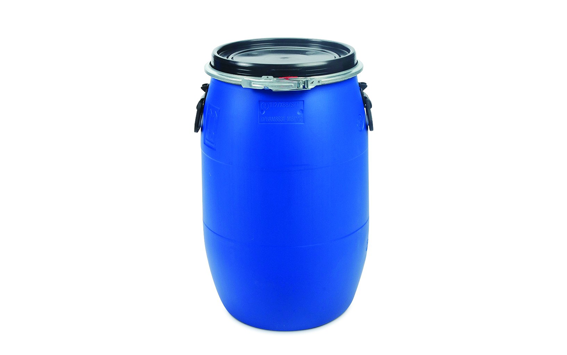 Open Top 60 liter Blue Drum Chemical Grade